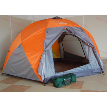 Огромна палатка за 10 човека - двуслойна