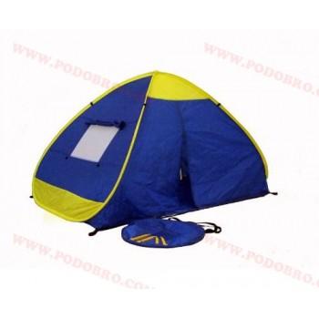 Саморазгъваща се палатка за четирима човека - еднослойна
